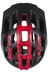 Lazer Roller Helm black-red mat